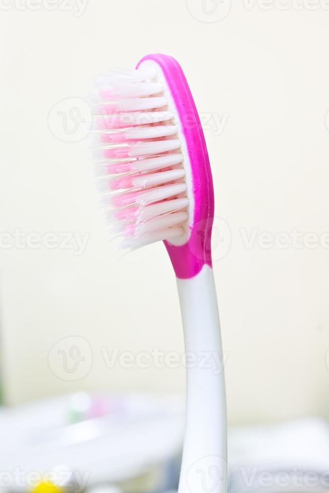 vecchio spazzolino da denti foto