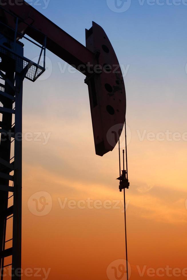 la pompa dell'olio foto