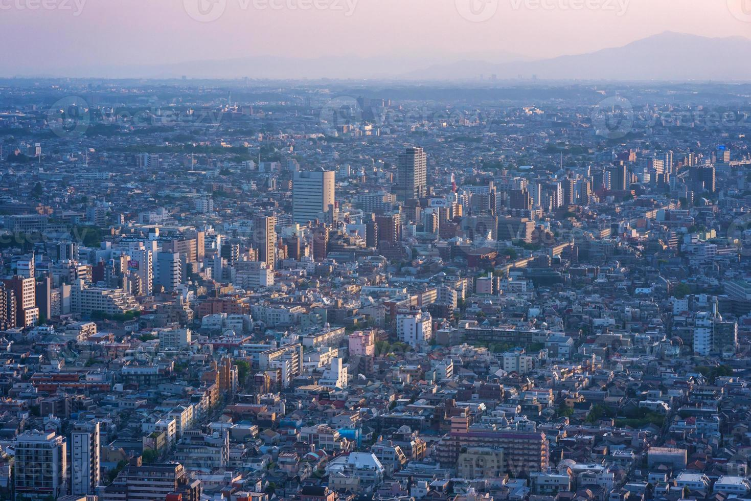 vista di Tokyo. foto