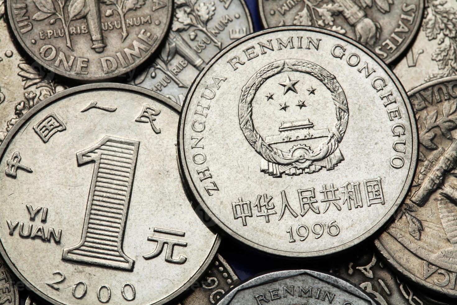 monete di porcellana foto