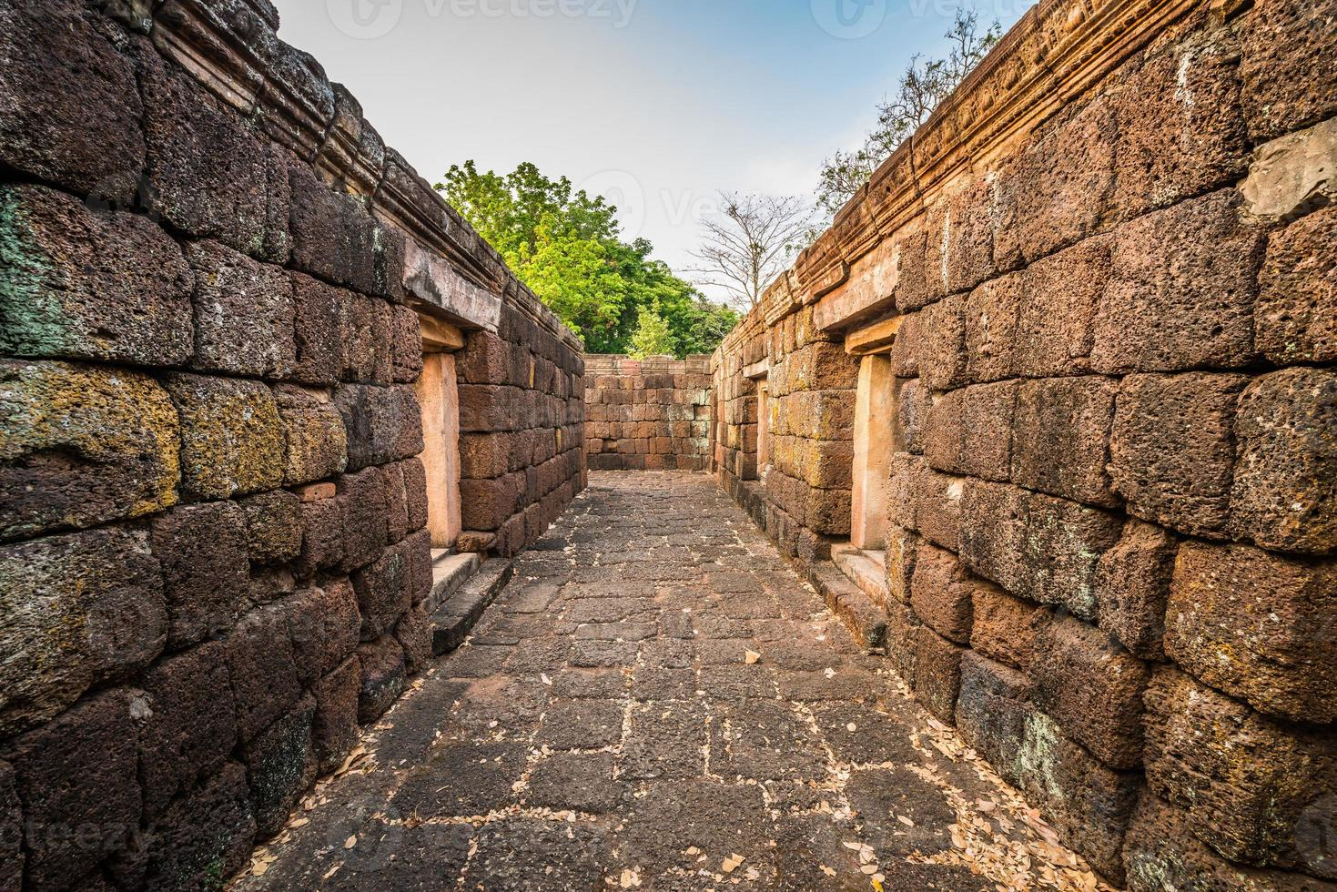Phanom ha suonato il parco storico del castello in Tailandia foto