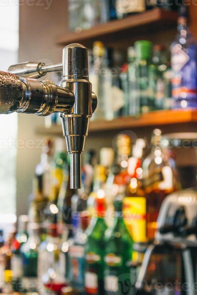 erogatore di birra alla spina foto