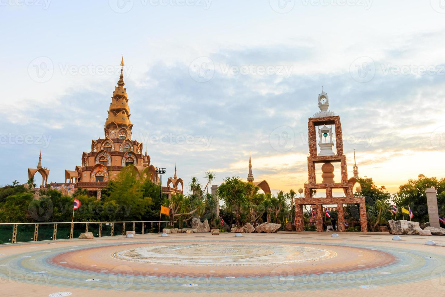 pha sorn kaew temple, bellissimo tempio foto