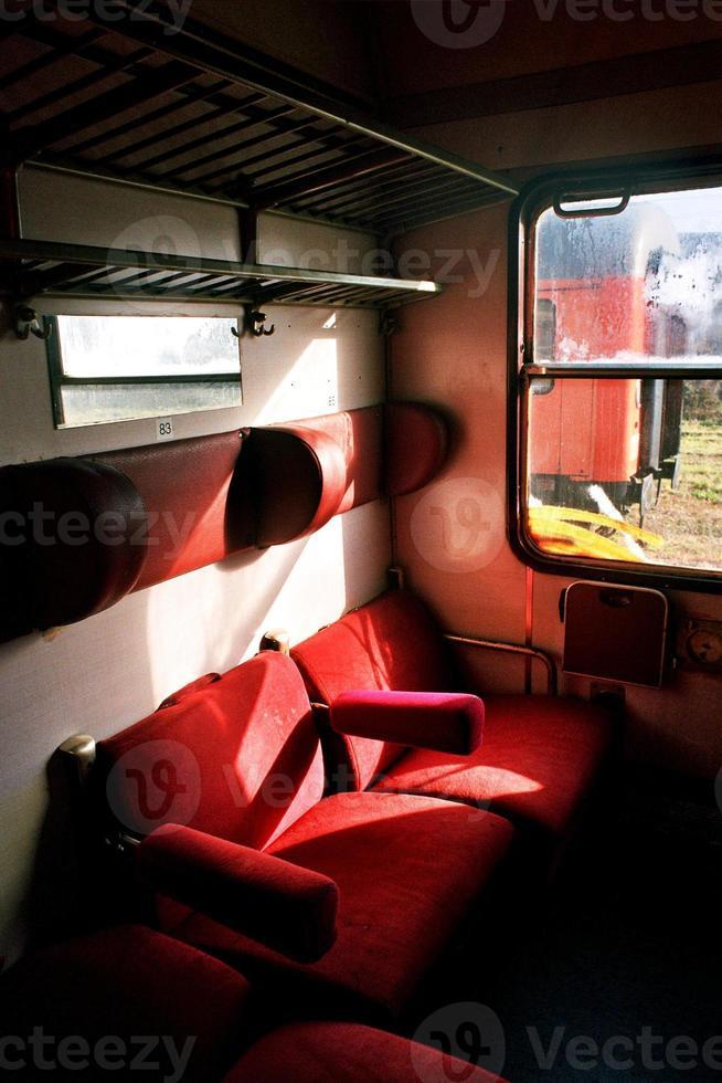 treno cimitero foto