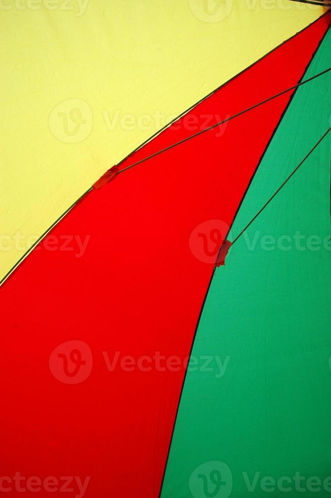 tende colorate per ombrelloni foto
