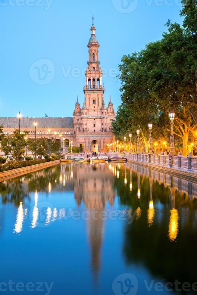 espana plaza sevilla spagna foto