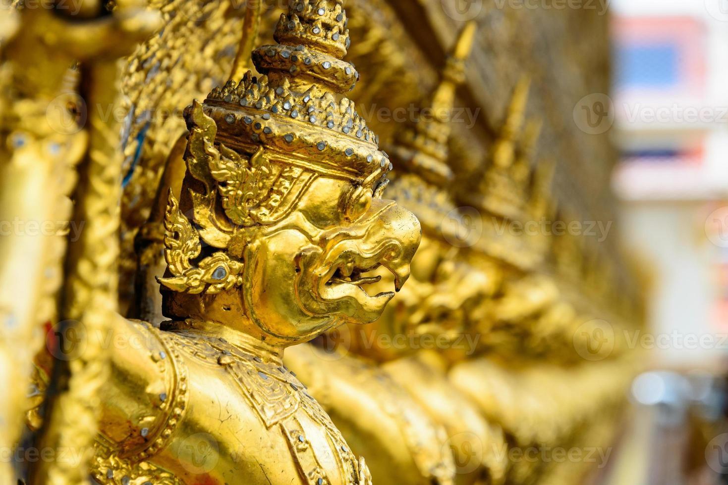 Garuda dorato, grande palazzo, Tailandia foto
