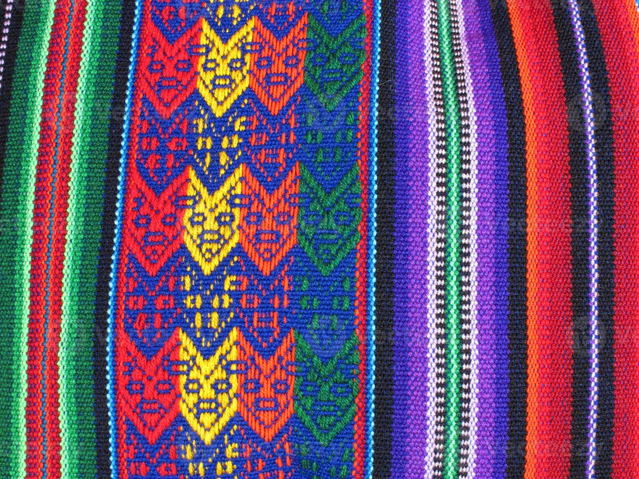 tessuti sudamericani indiani foto