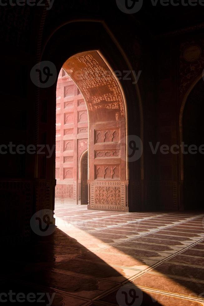 moschea Taj Mahal foto