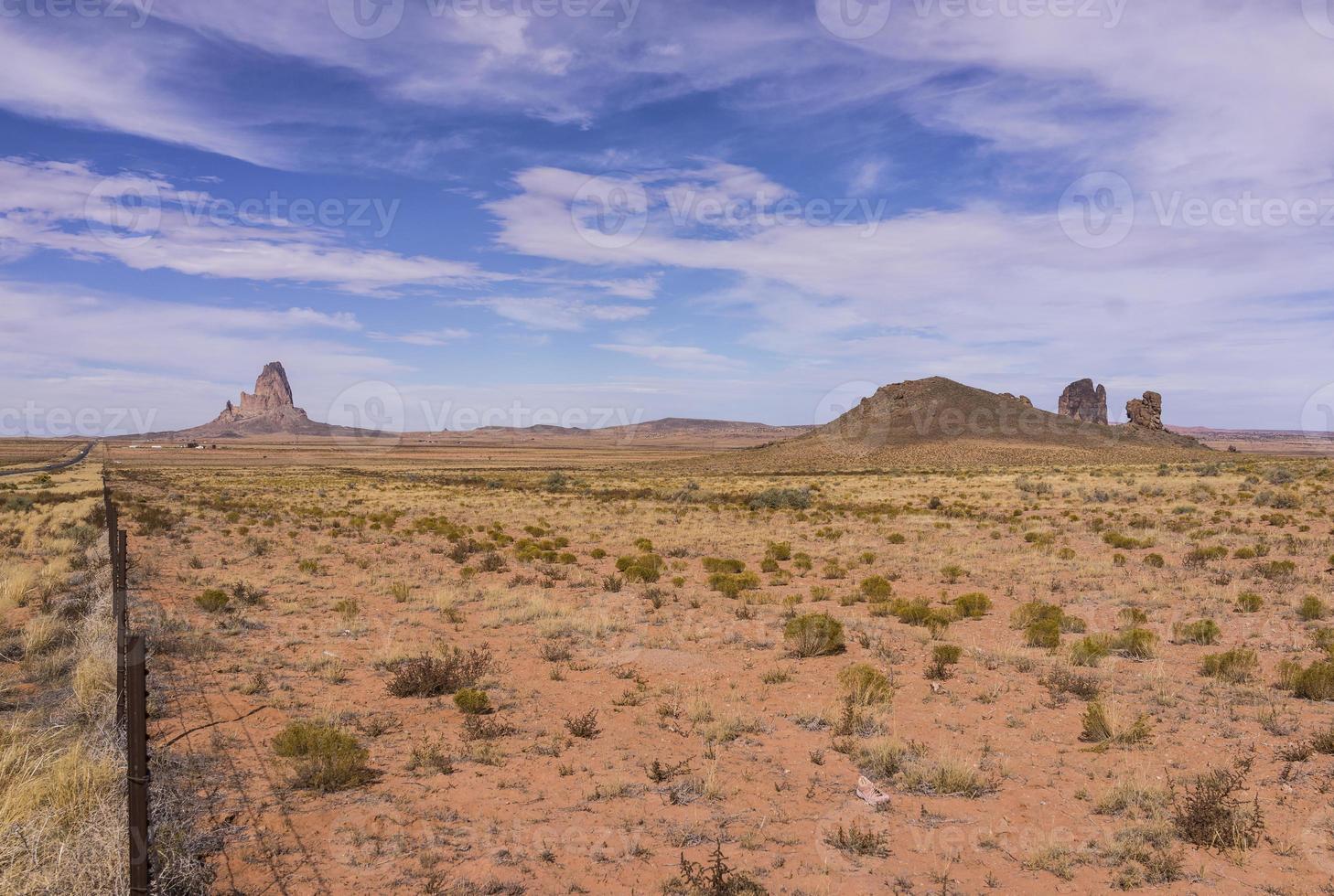 Monument Valley dalla strada panoramica 163 (Arizona, Stati Uniti) foto