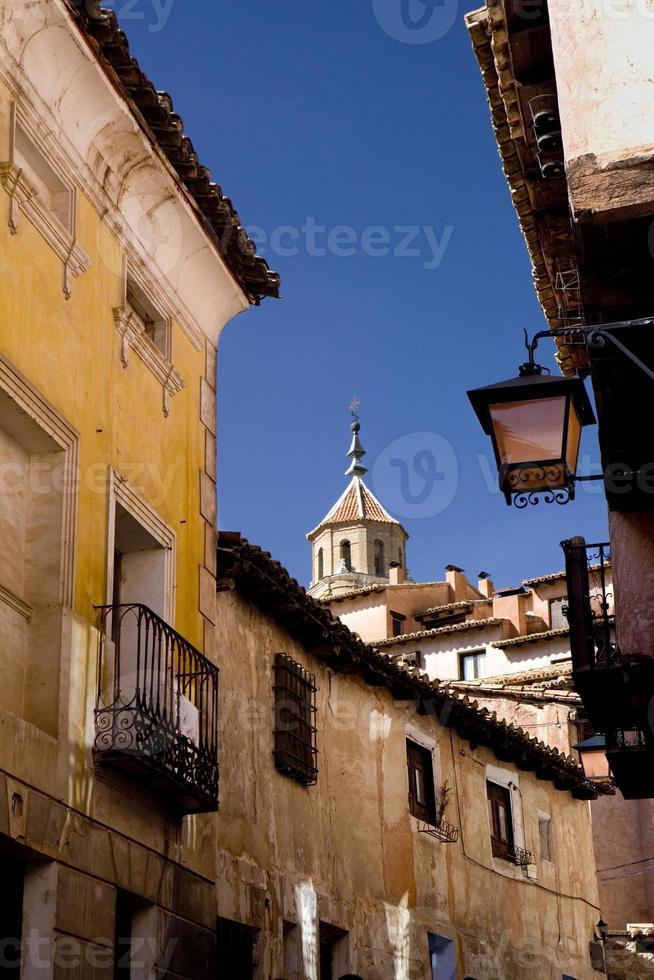 strade di albarracín. foto