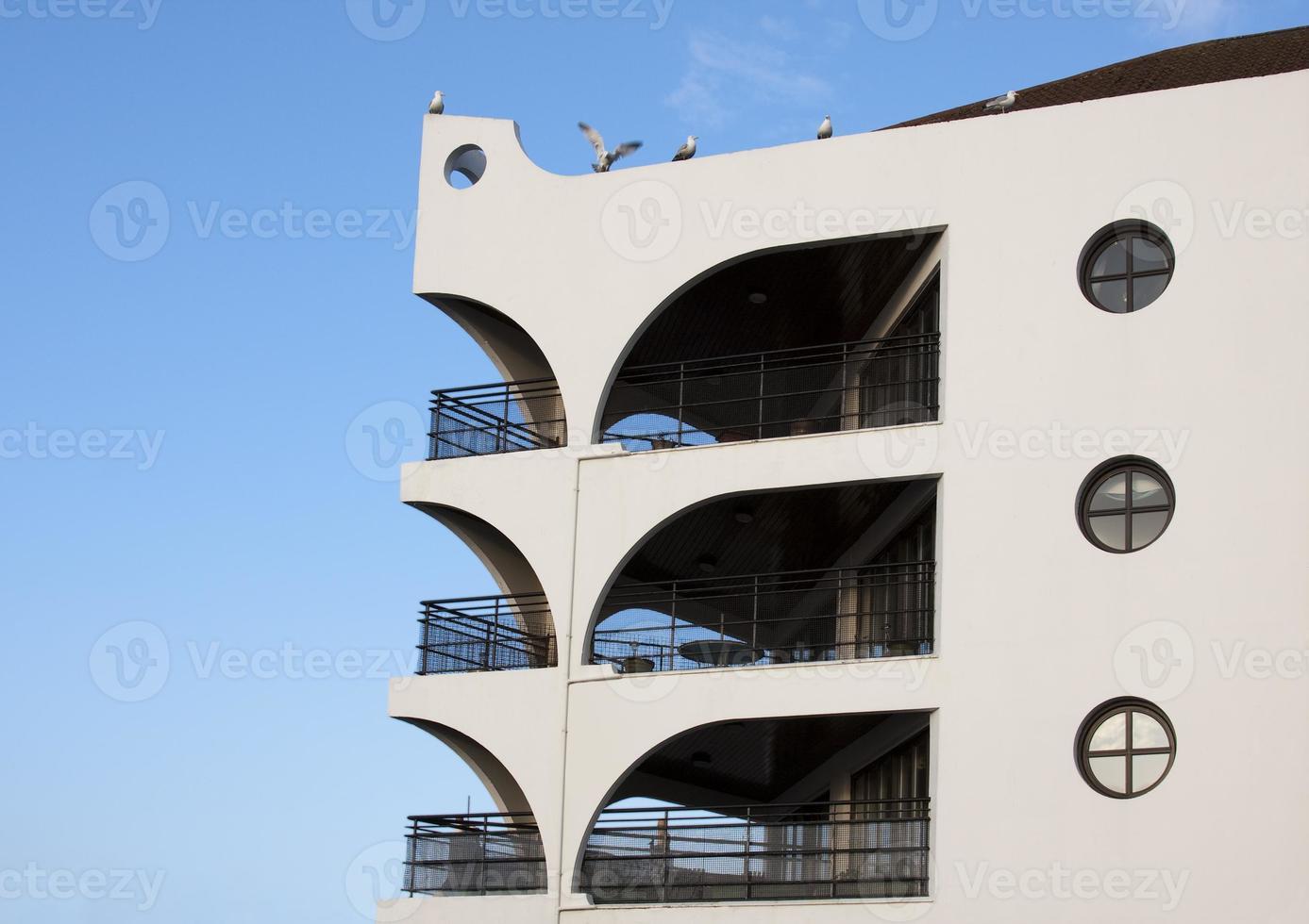 architettura moderna - balconi foto