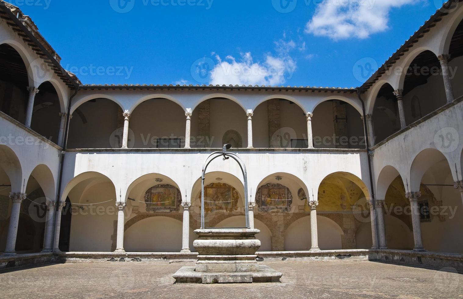chiesa di st. Francesco. amelia. umbria. Italia. foto