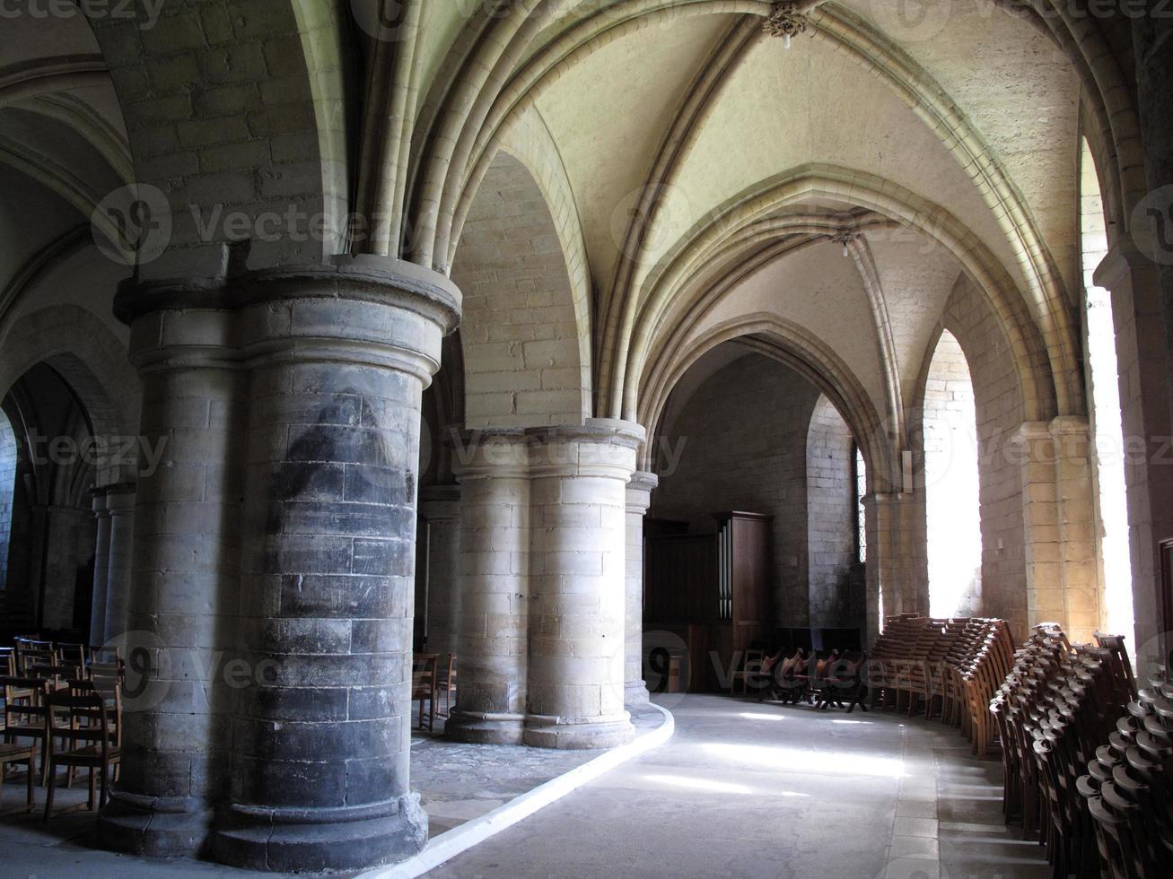 cripta della cattedrale di canterbury foto