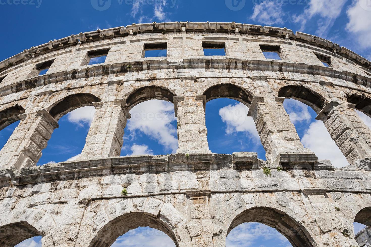antico anfiteatro. foto