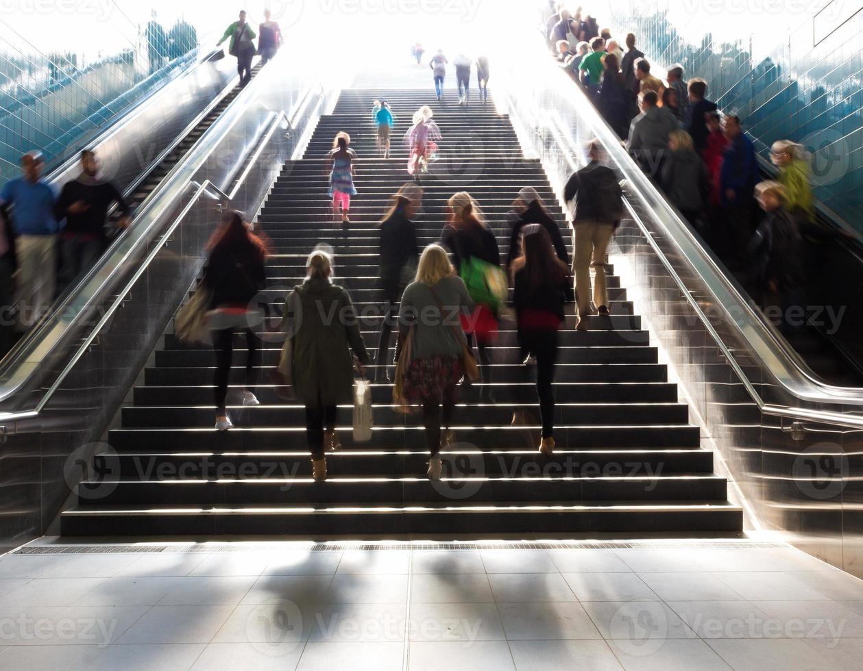 scale nella metropolitana Citiy foto