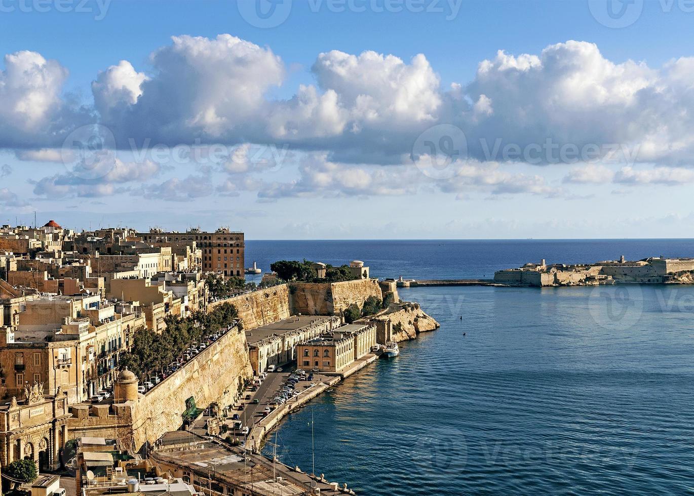 la valletta old town in malta foto