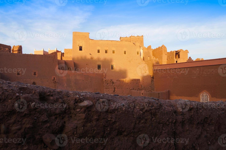 Kasbah Taourirt, Ouarzazate in Marocco foto