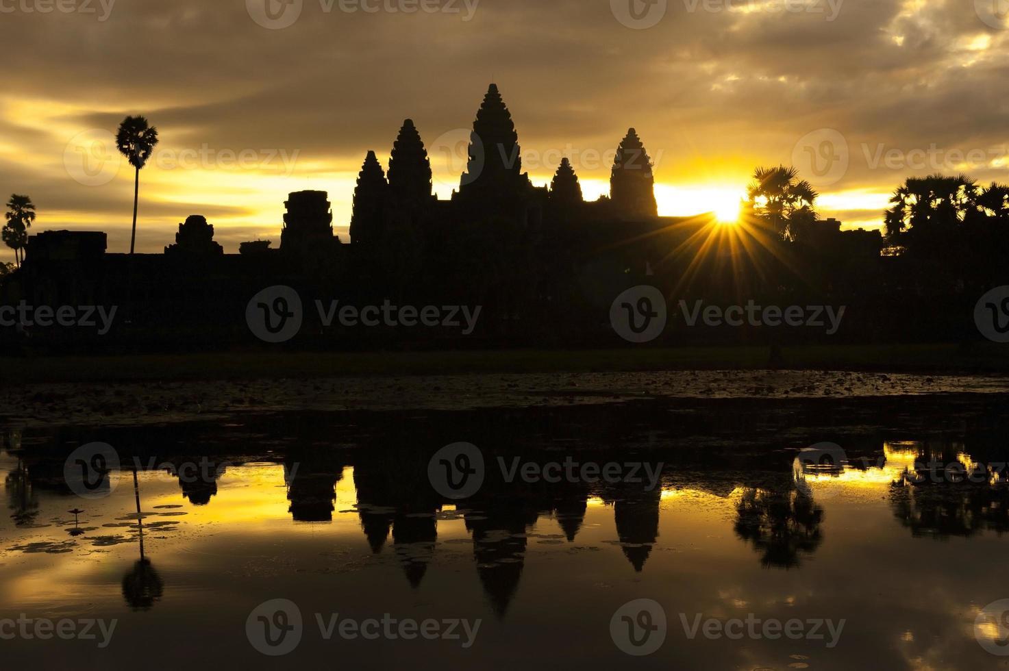 Angkor Wat in Cambogia foto