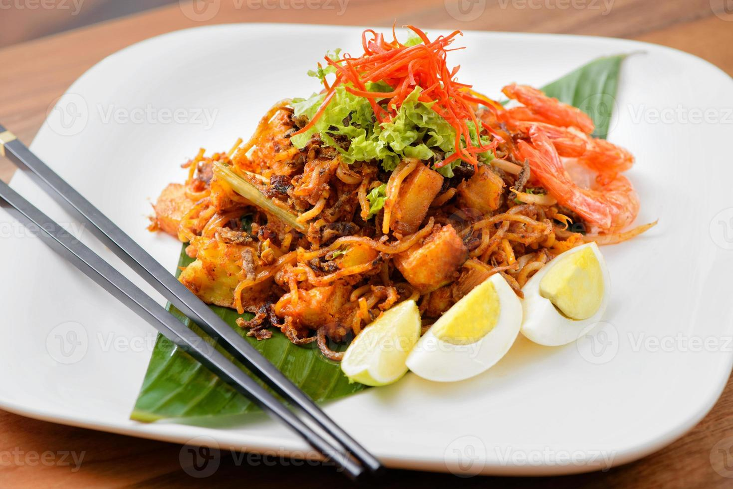 amico indiano noodle (mee goreng) foto