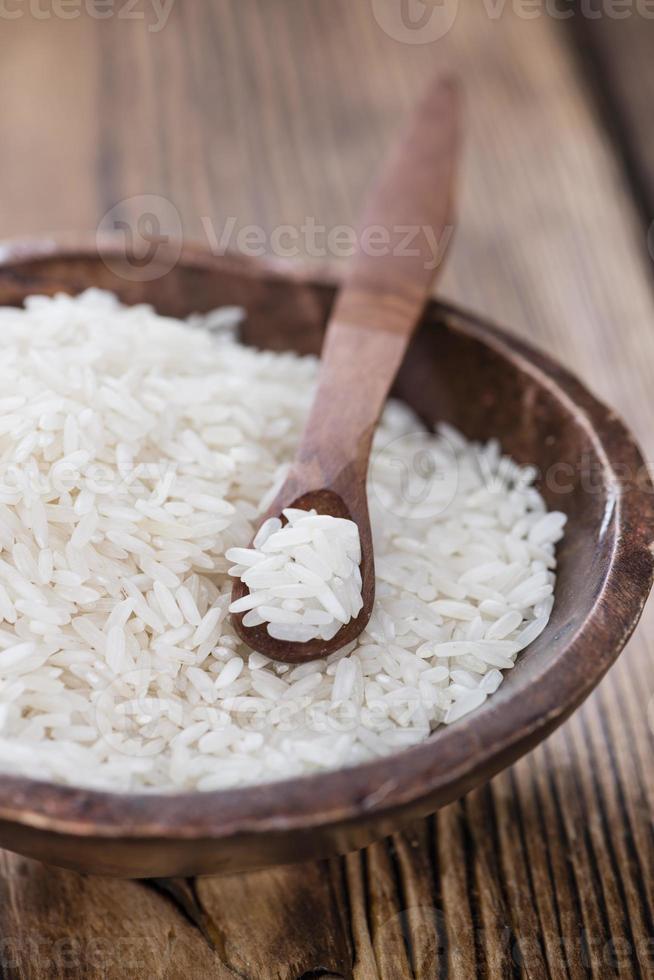 porzione di riso foto
