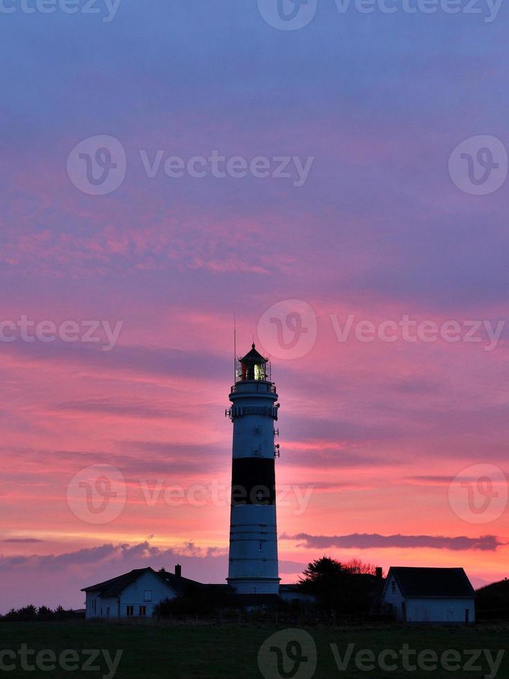 leuchtturm auf sylt foto