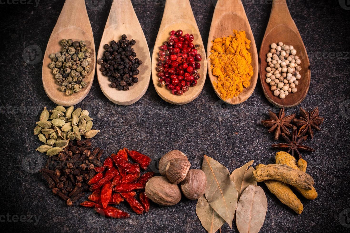 spezie, ingredienti foto