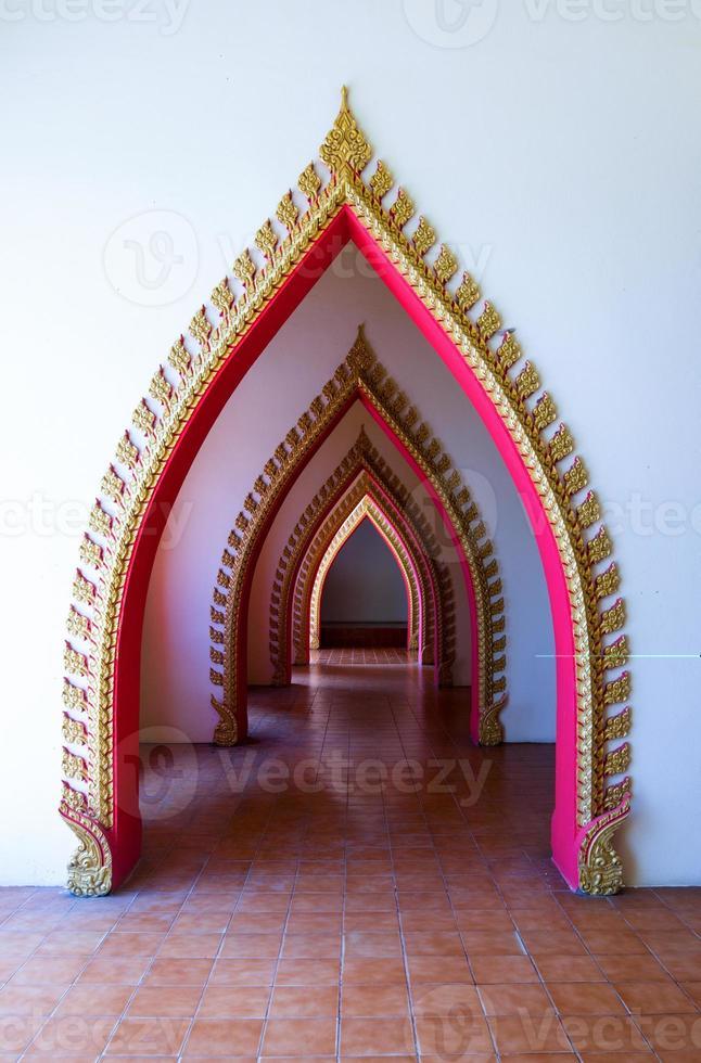 strato del tempio della porta foto