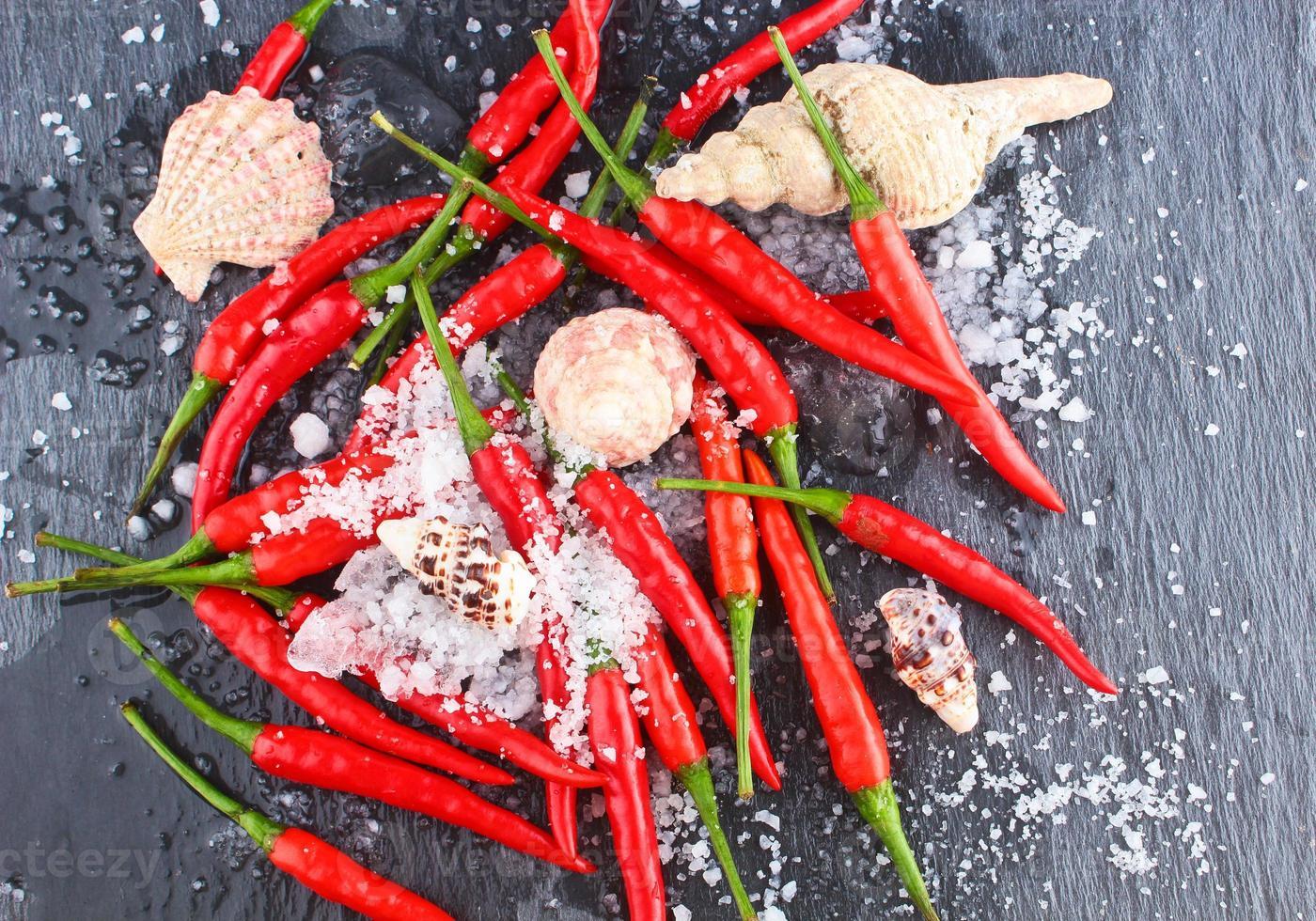peperoncino rosso piccante foto