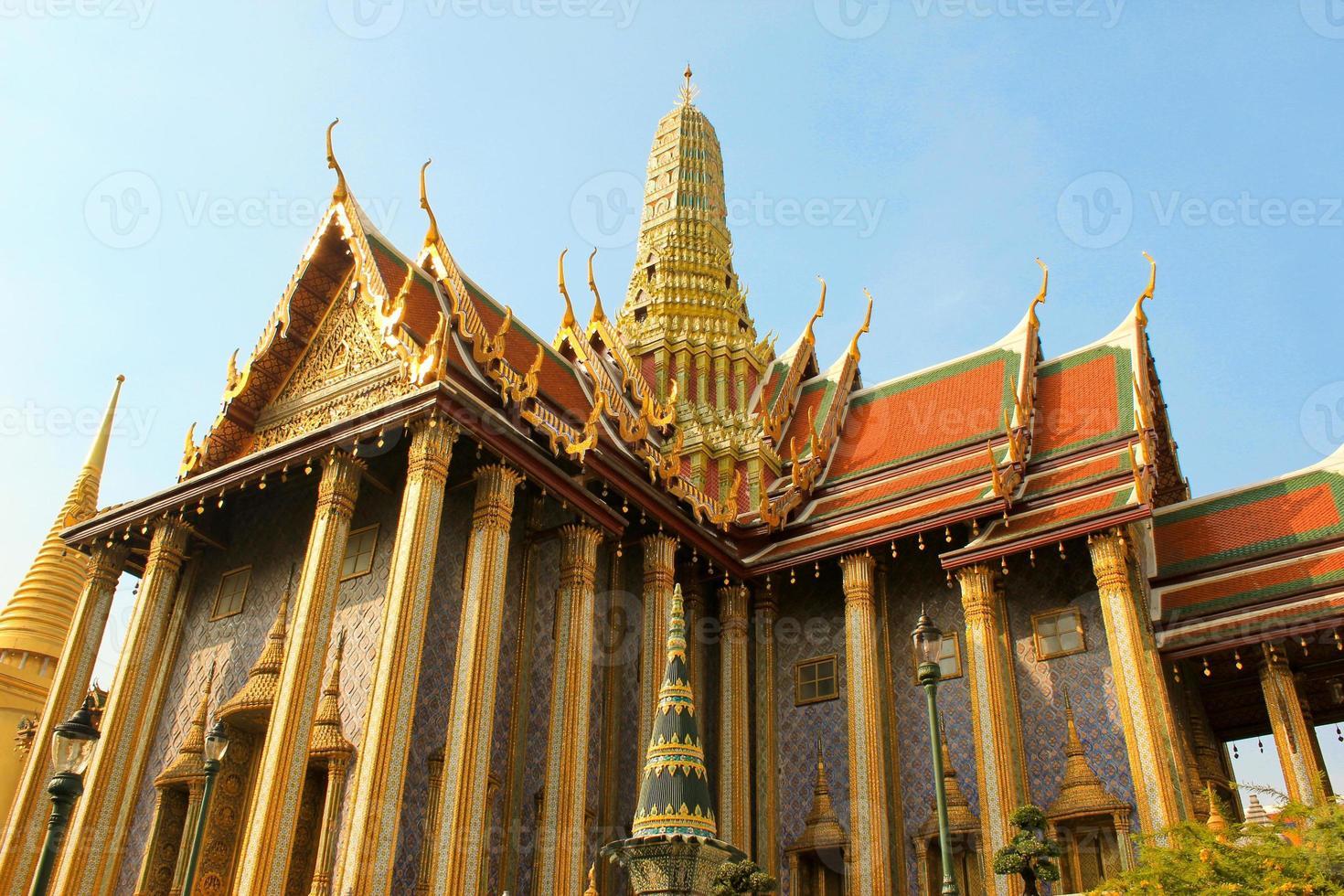 il grande palazzo famoso a Bangkok Tailandia foto