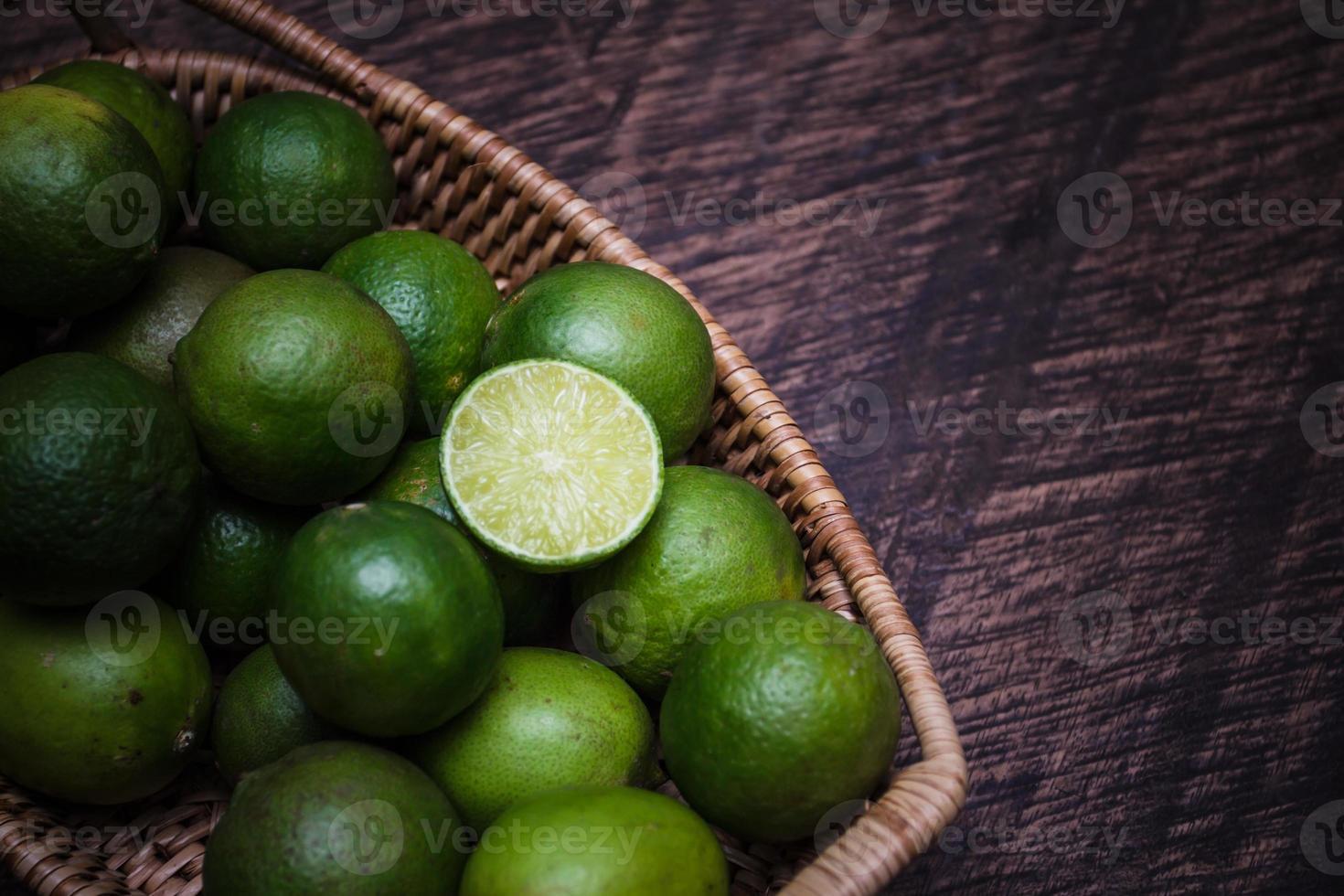 verde lime foto