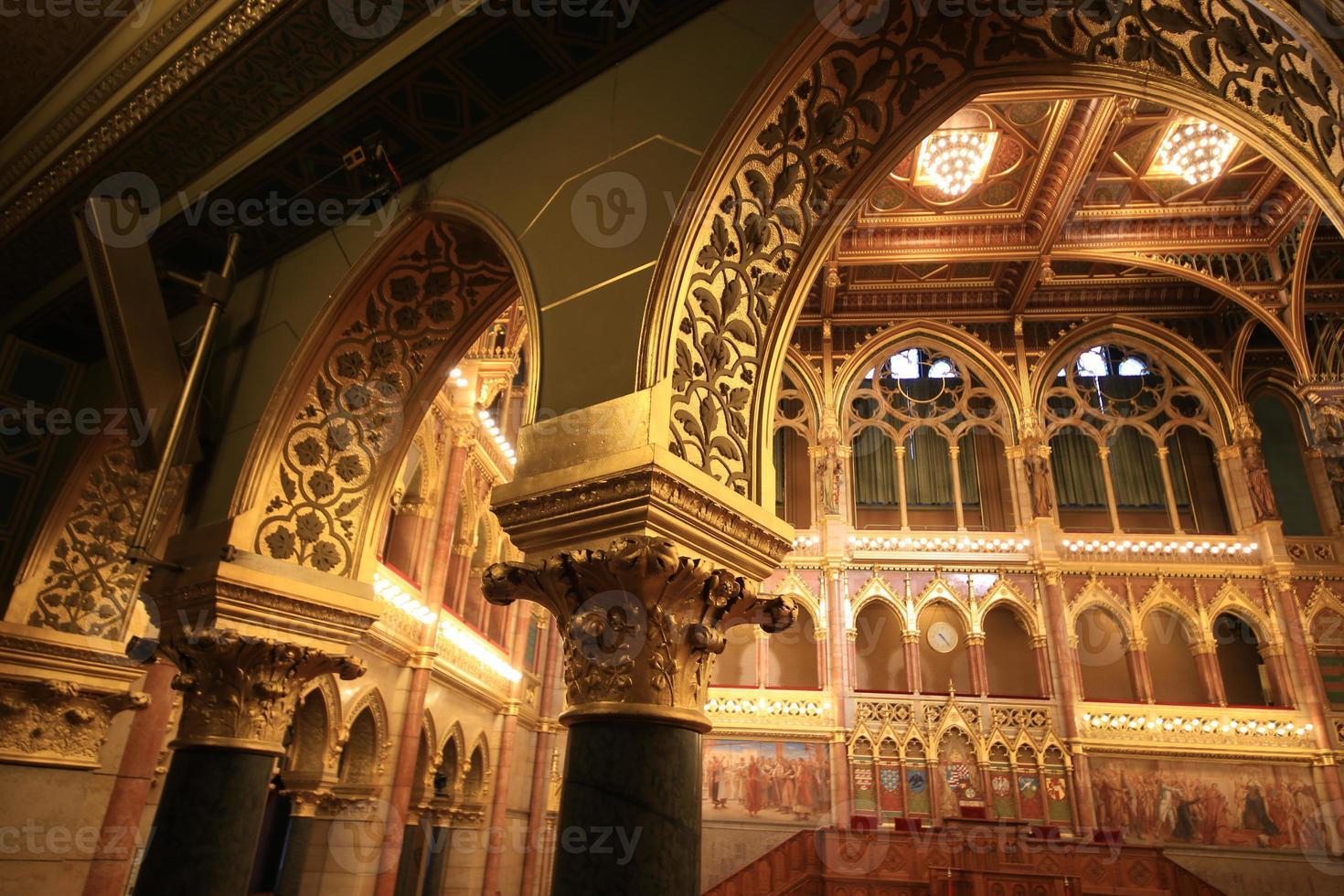 palazzo del parlamento budapest foto