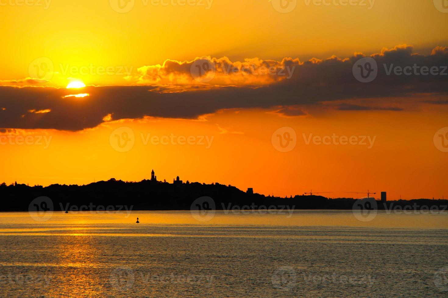 panorama di Belgrado foto