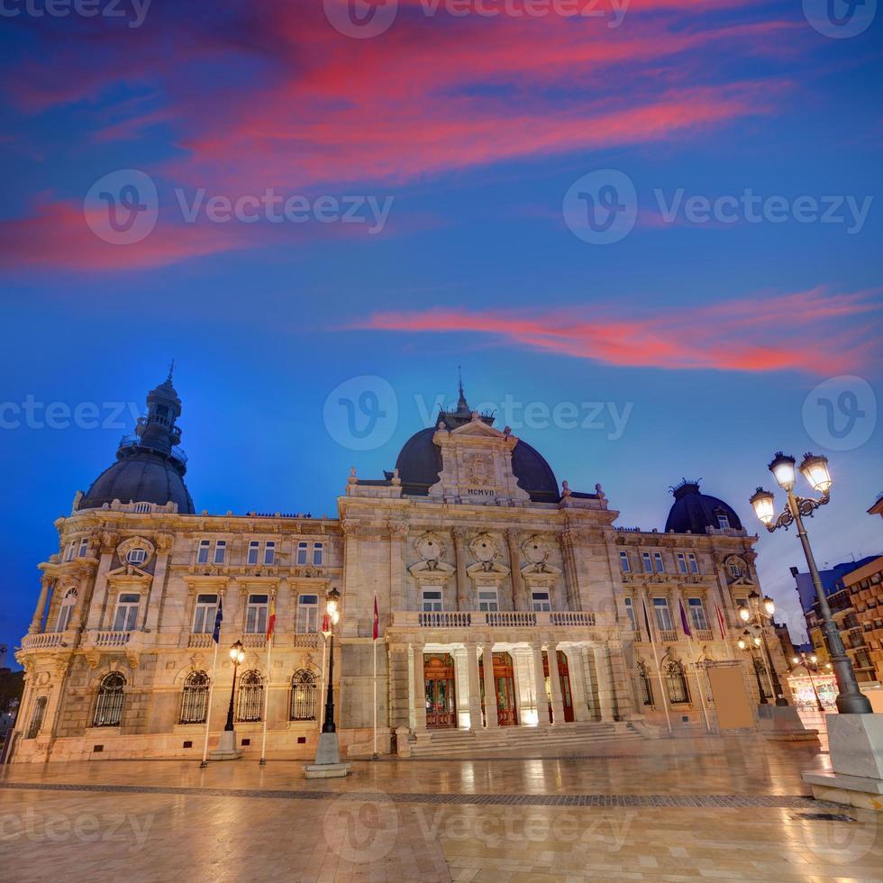 ayuntamiento de cartagena murciacity hall spagna foto