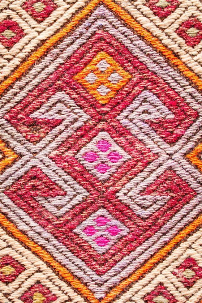 tappeto colorato foto