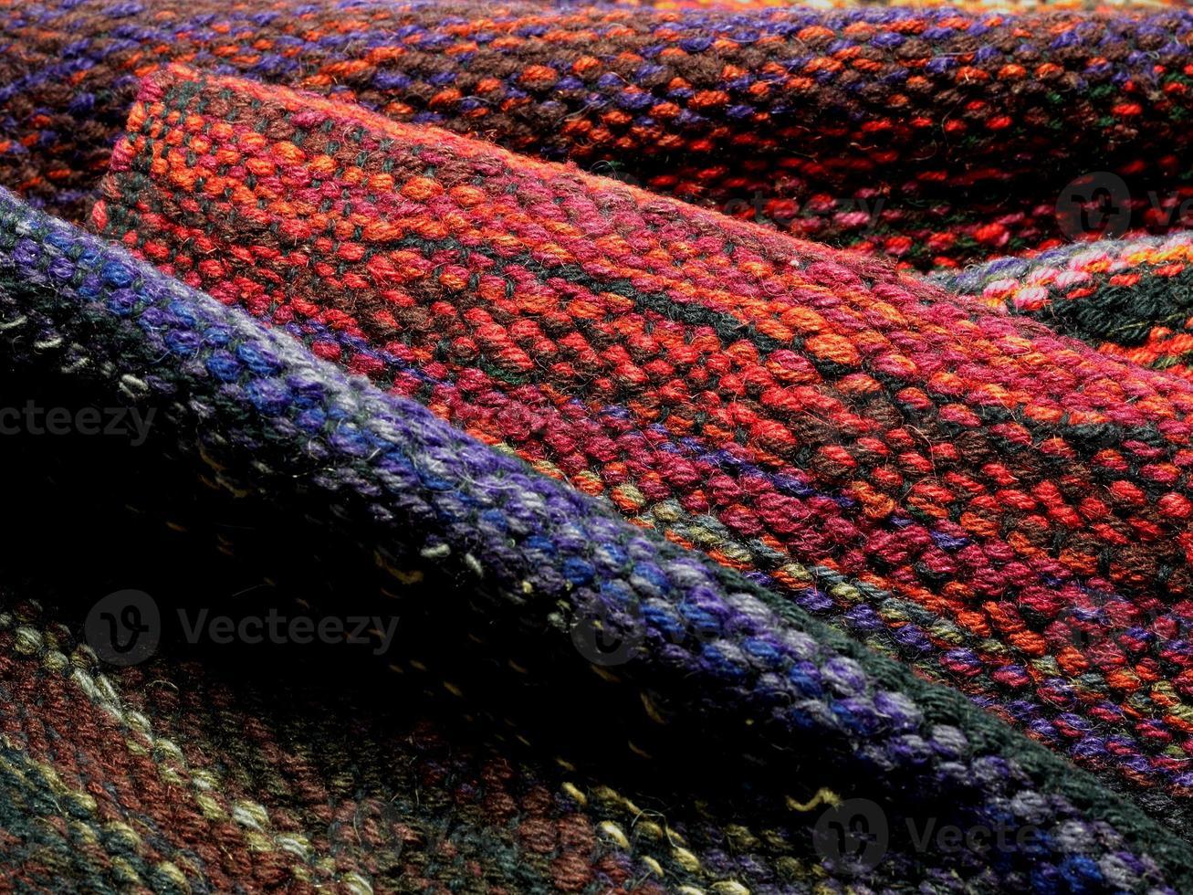 tessitura a mano lana foto
