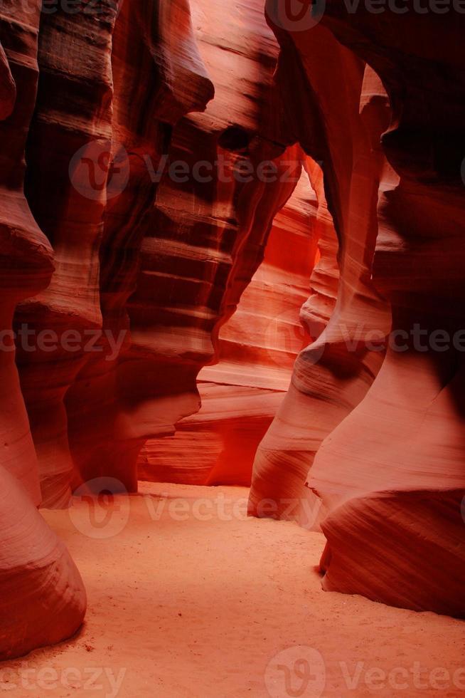 antelope canyon - arizona, stati uniti d'america foto