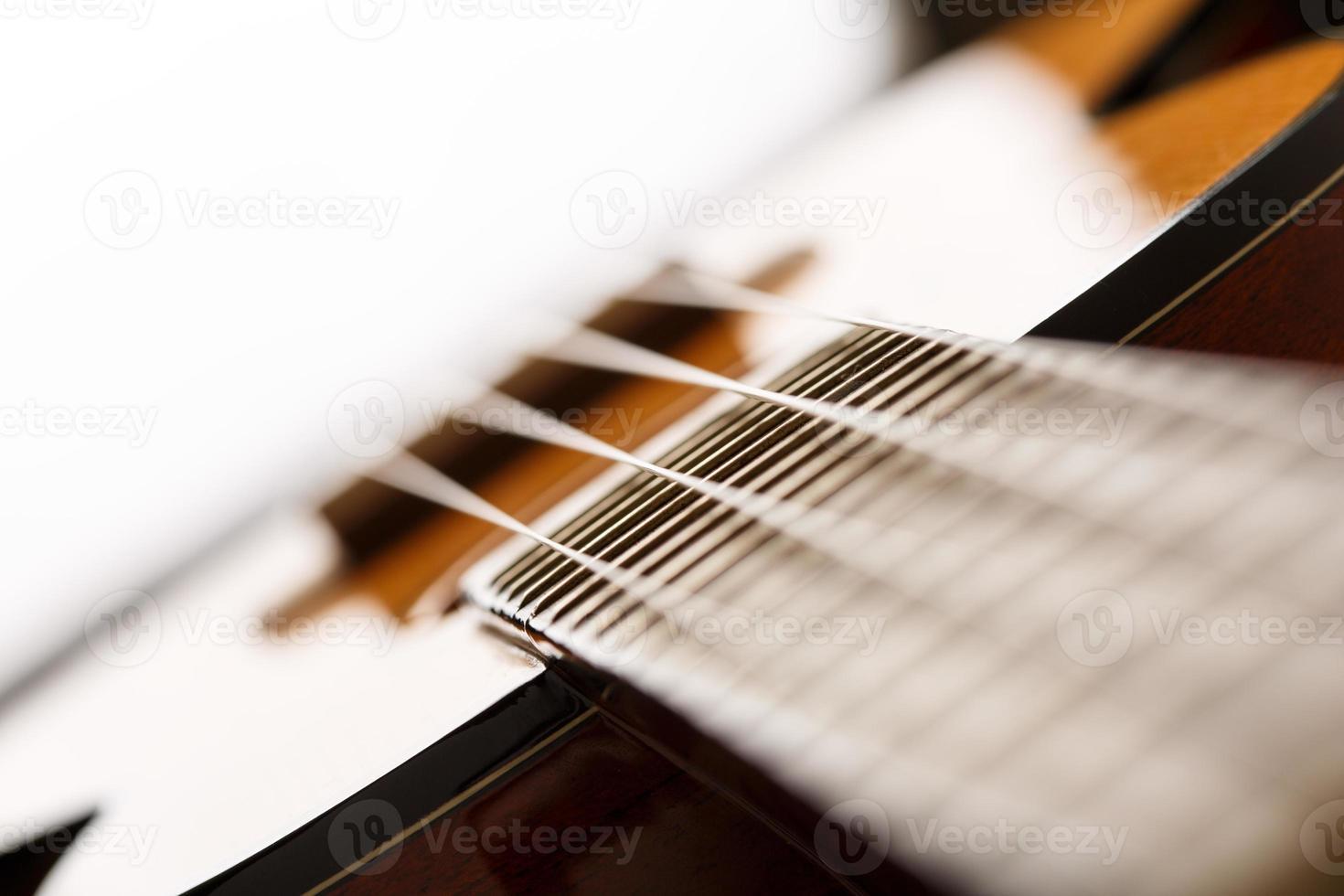 piccola chitarra ukulele hawaiana a quattro corde foto