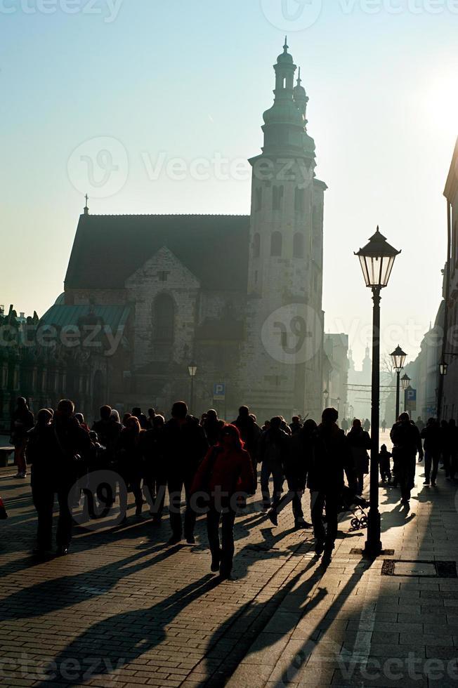 Città vecchia di Cracovia foto