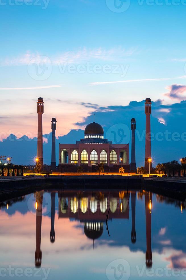 moschea centrale Songkhla Tailandia foto