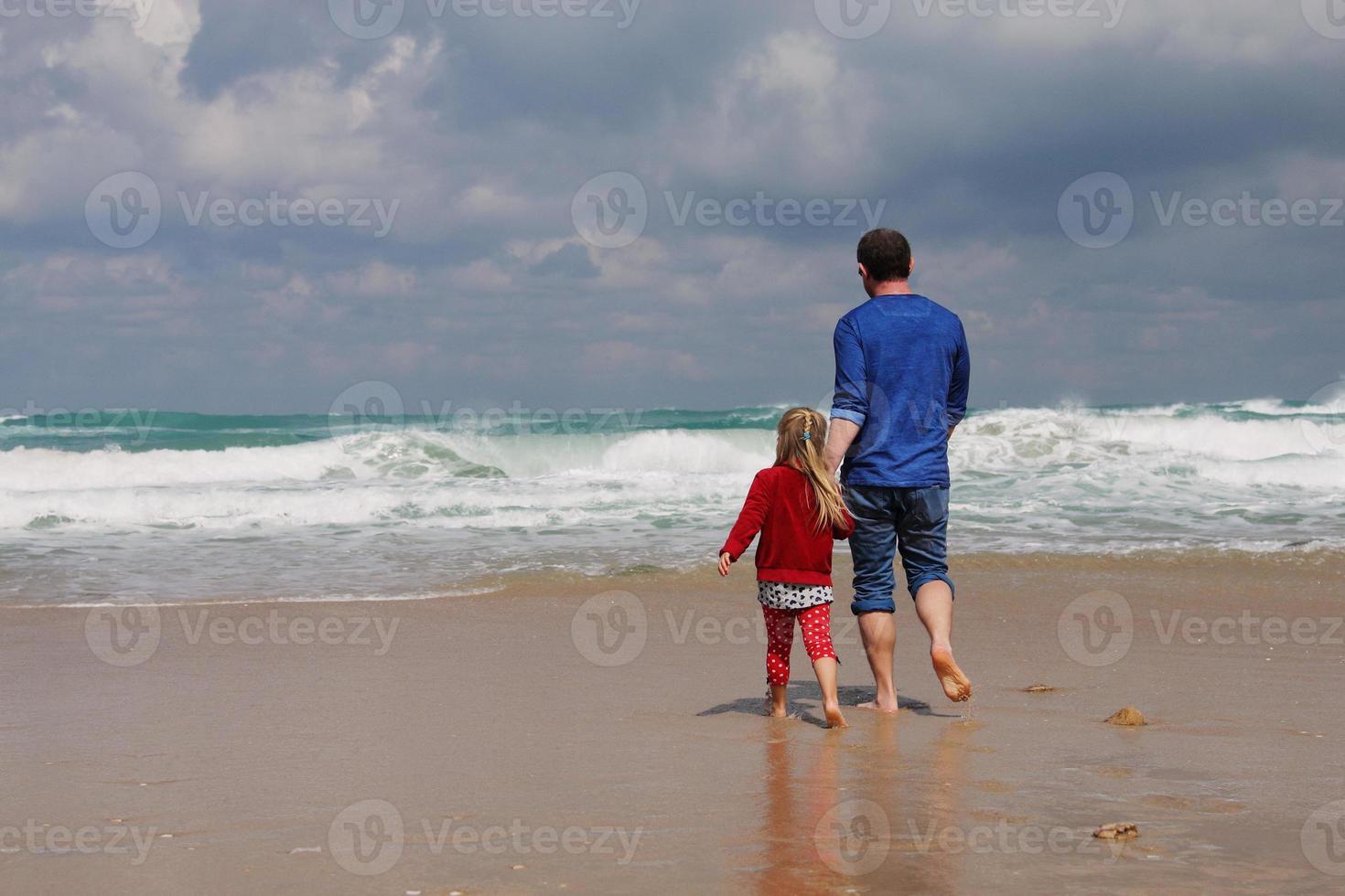 padre e figlia foto