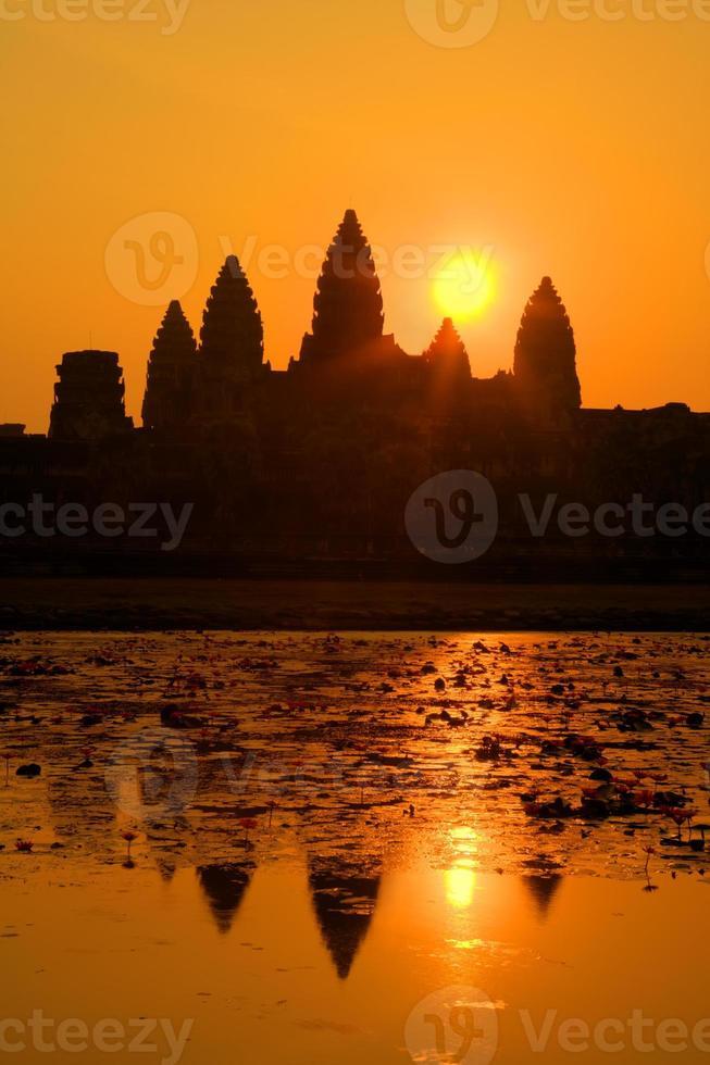 Angkor Wat all'alba foto