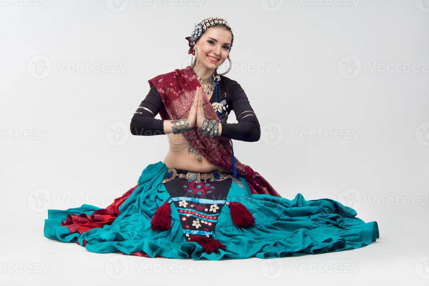 donna orientale foto