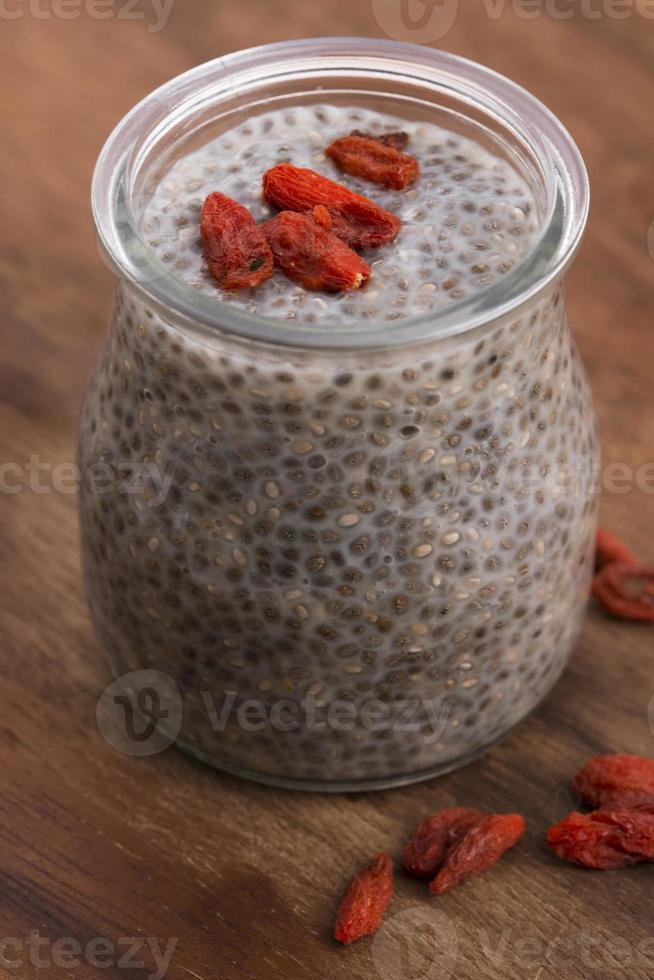 budino di semi di Chia foto