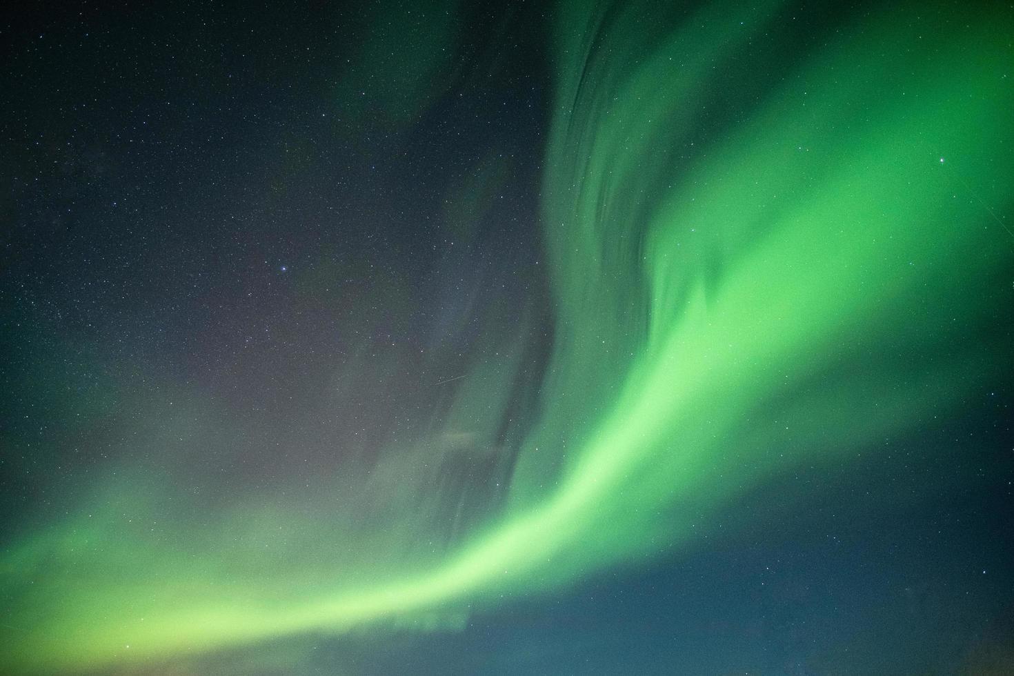 bella aurora boreale foto