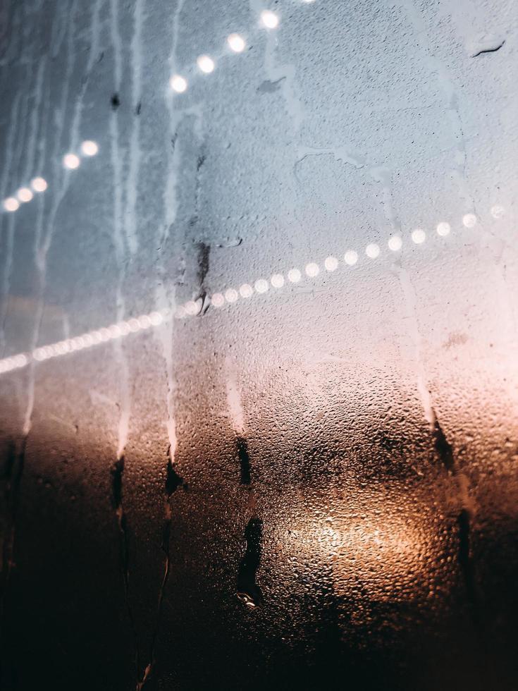 umidità sul vetro foto