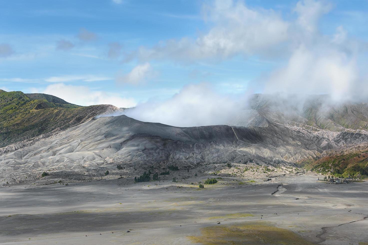 Monte Bromo in Indonesia foto