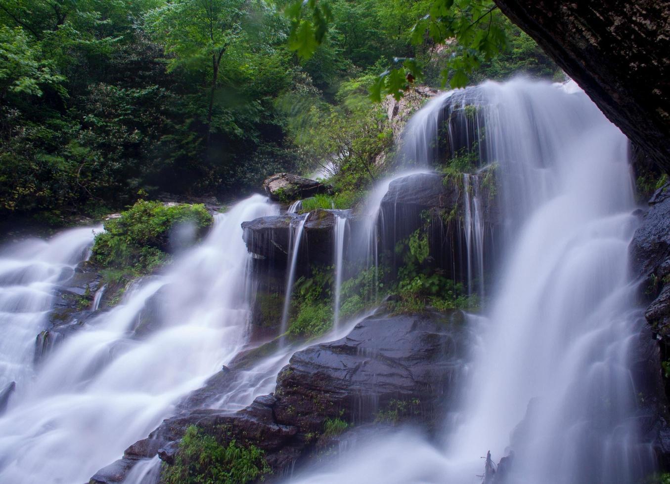 Catawba cade nella Carolina del Nord foto