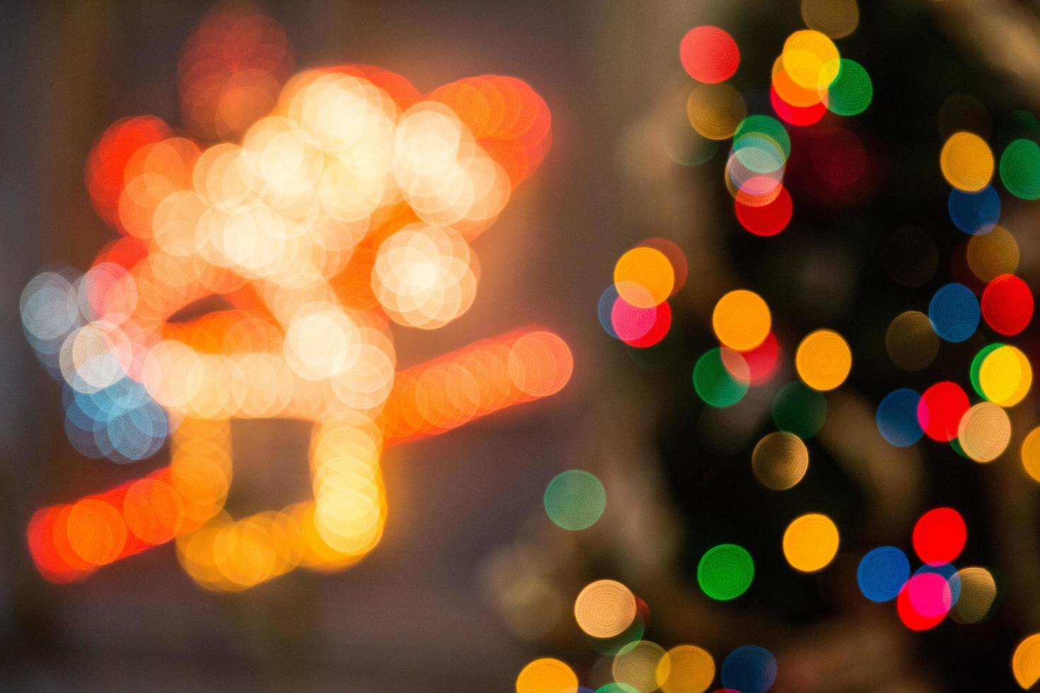 luci colorate assortite foto