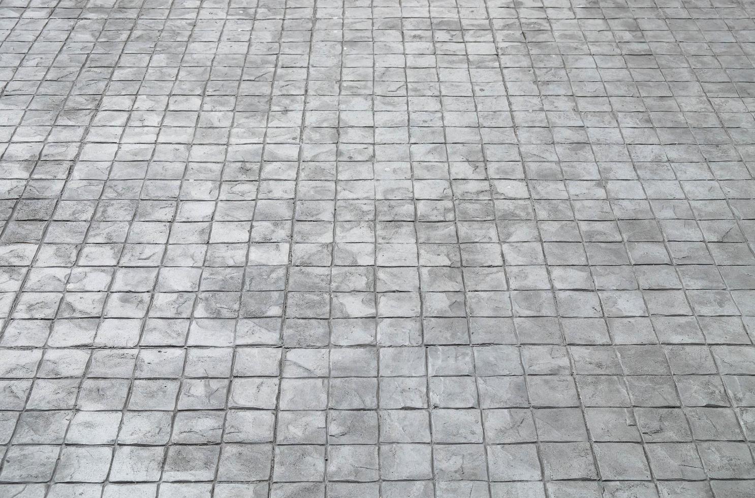 pavimento di piastrelle quadrate foto
